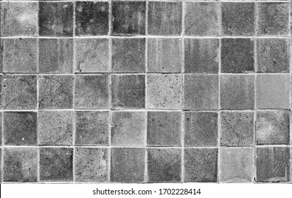 black and white of a sandstone brick - a textured background