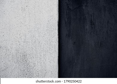 Black and white shabby wall texture
