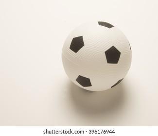 Black and white soccer ball/Soccer Ball/Soccer ball uses a football