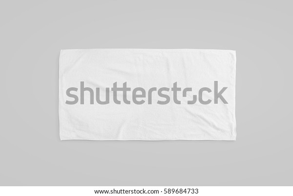 Black White Soft Beach Towel Mockup Stock Photo Edit Now