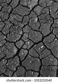 Black and white Soil background