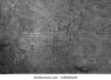 Black and white steel grungy background texture.