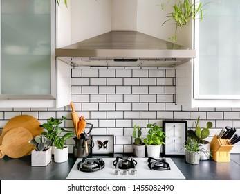 Kitchen Backsplash High Res Stock Images Shutterstock
