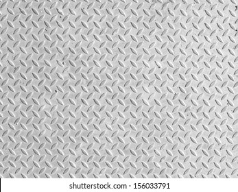Black and white vintage looking steel plate useful as background