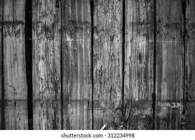 black and white vintage wall wood texture background