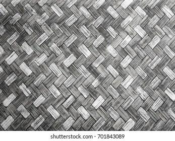 Black and white vintage wood diagonal wallpaper