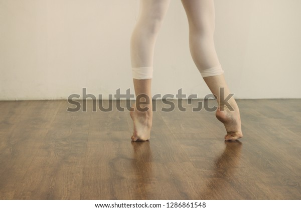 Black White Wallpaper Faceless Ballet Dancer The Arts Stock Image 1286861548