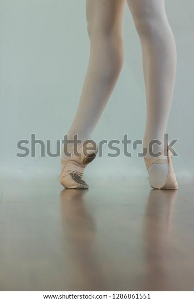 Black White Wallpaper Faceless Ballet Dancer Stock Photo Edit Now 1286861551