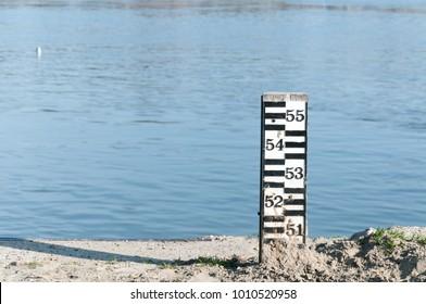 Flood Marker Images, Stock Photos & Vectors   Shutterstock