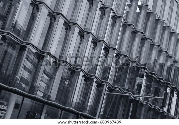 black and white windows architecture