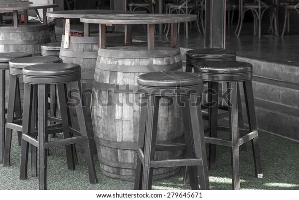 Prime Black White Wine Barrel Table Leather Stock Photo Edit Now Forskolin Free Trial Chair Design Images Forskolin Free Trialorg