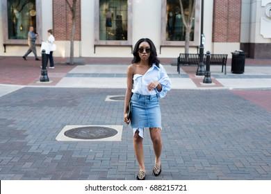 Black Woman Lifestyle Fashion