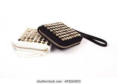 Black Women's handbag, Lady's bag,Black female clutch,Black clutch