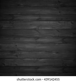 black wood background on natural wooden texture