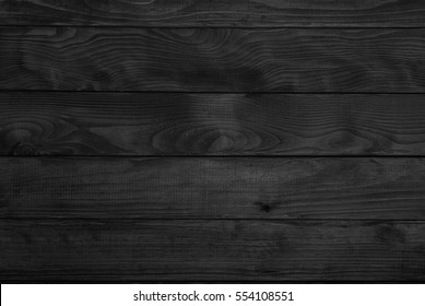 Black wood burn planks background