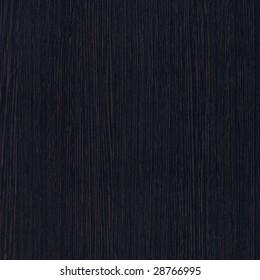 Black wood. Expensive ebony