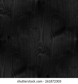 black wood, grunge rough texture, vertical seamless pattern