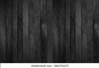 black wood repeat background