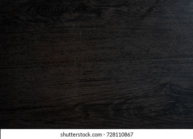 black wood table background and texture