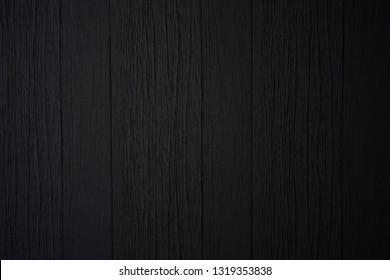 Black wood texture or background