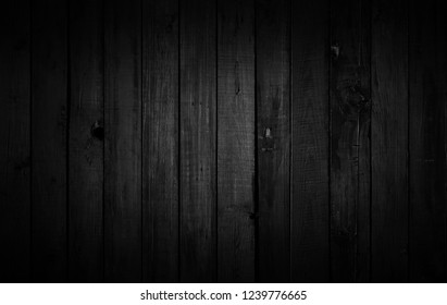 Black wood texture background coming from natural tree. Wooden panel with beautiful patterns. Space for work
