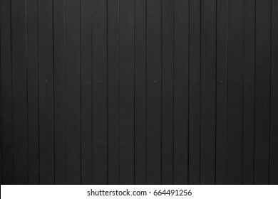 Black wood texture background. wood plank with pattern for design and cement striped wood wall vertical plank. Wood substitute board and high quality fiber cement board texture for architect