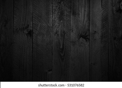 Black wood texture for design and background