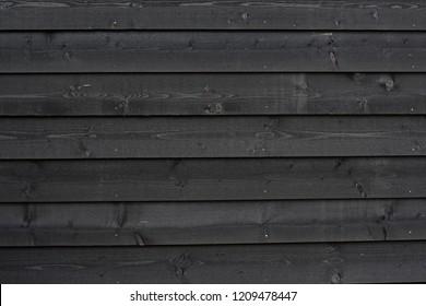 Black wooden background pattern horizontal planks