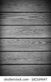 black wooden background or wood grain plank grey texture