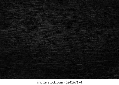 Black Wooden Surface Texture Background.
