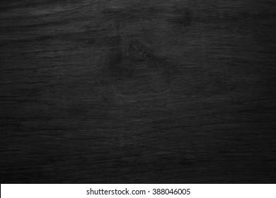 Black wooden texture background blank for design