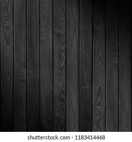 black wooden texture or boarding vintage background