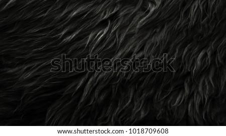 Foto stock a tema Black Wool Texture Background Dark Natural ... b8ae4b57e897