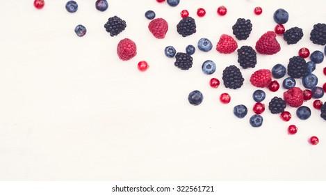 blackberry, raspberry, blueberry anti oxidants hero header
