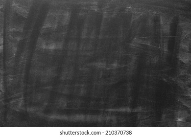 Blackboard  Background With Chalk Traces