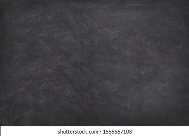 Blackboard  Chalkboard texture.Empty blank black chalkboard.School board background with traces of chalk. Cafe, bakery, restaurant menu template.