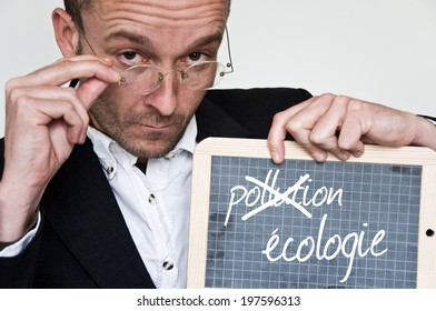 blackboard ecology concept in french