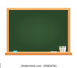 Blackboard. Illustration about education