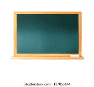 Blackboard isolated on a white