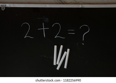 A blackboard is a reusable writing surface on which text or drawings are made with sticks of calcium sulfate , Blackboards were originally made of smooth, thin sheets of black stone.