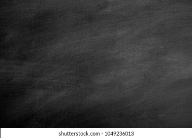 Blackboard with space to add text or graphic design. chalk rubbed out on chalkboard for background. you can cut and paste text message.
