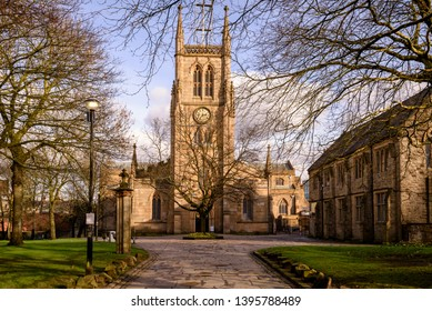 Blackburn Cathedral, is an Anglican cathedral situated in the heart of Blackburn town centre, in Lancashire, England.