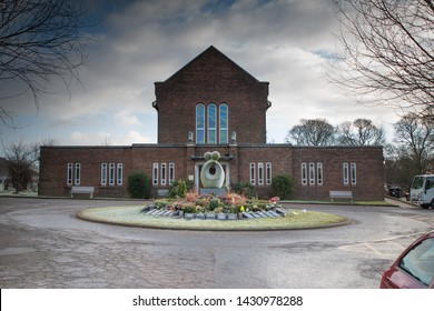 Blackburn, Lancashire UK. June 2018 Blackburn Crematorium