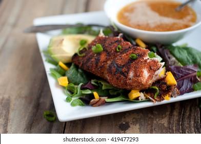 Blackened Mahi Summer Salad