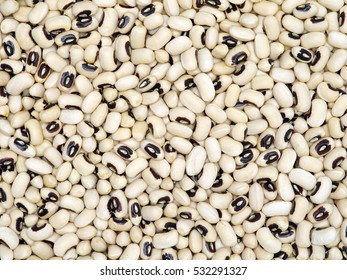 Black-eyed Beans texture background