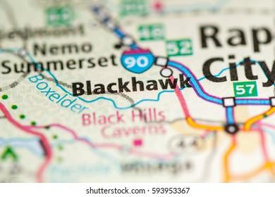 Blackhawk. South Dakota. USA
