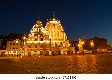 Blackheads house in old Riga