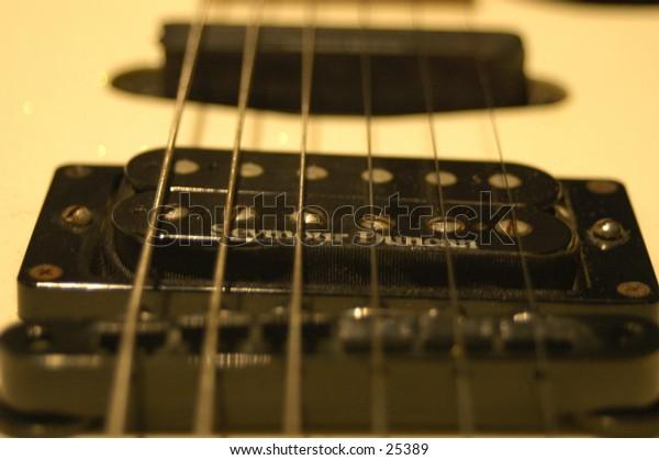 blackhurst custom tigershark guitar