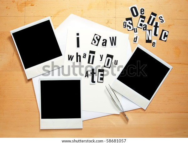 Blackmail Threat Dieter Stock Photo  Edit Now  58681057