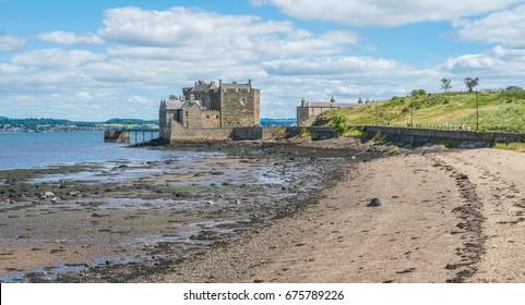 Blackness Castle, near the omonimous village in the council area of Falkirk, Scotland.